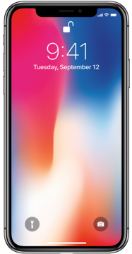 iphone x black image